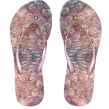 Load image into Gallery viewer, The best shower sandals for function and style. This is the Mermaid by Showaflops