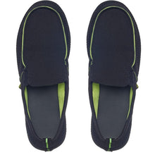 Load image into Gallery viewer, Slip On Loafers (Black/Lime)