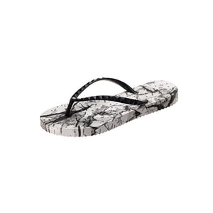 small image of shower flip flops by Showaflops. Abstract design.