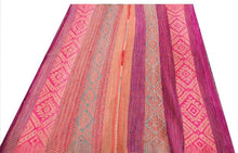 Load image into Gallery viewer, Vintage frazada | Blanket/Rug | Pink, blue and purple