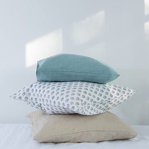 Pillowcase | 50x50 | Aqua marine blue