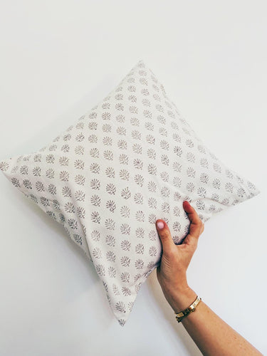 Pillowcase | 50x50 | White & Cool grey #1