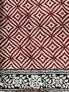 Pareo | Handprinted | Red | Various Prints