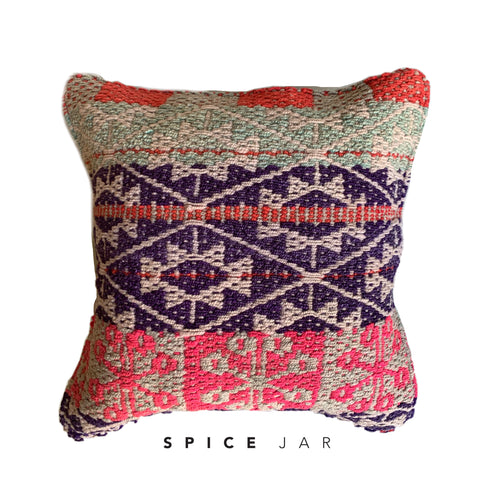 Vintage frazada | Cushion | 45x45 | 3 colors/patterns