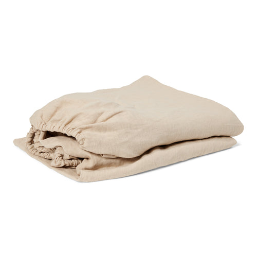 Fitted sheet | 90x200 | Natural