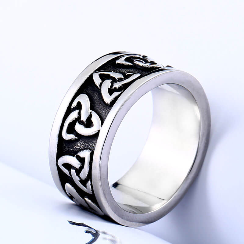 Pride Viking: Norse Jewelry Viking Trinity Knut Ring