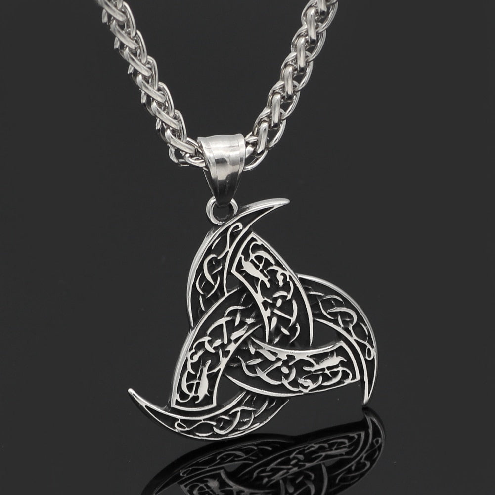 Pride Viking: Norse Jewelry Odin's Horn Necklace