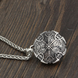 Pride Viking: Norse Jewelry Shield Helm of Awe Pendant