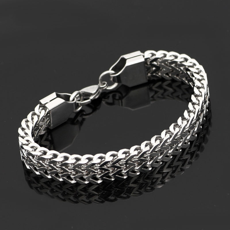 Pride Viking: Norse Jewelry Chain Bracelet