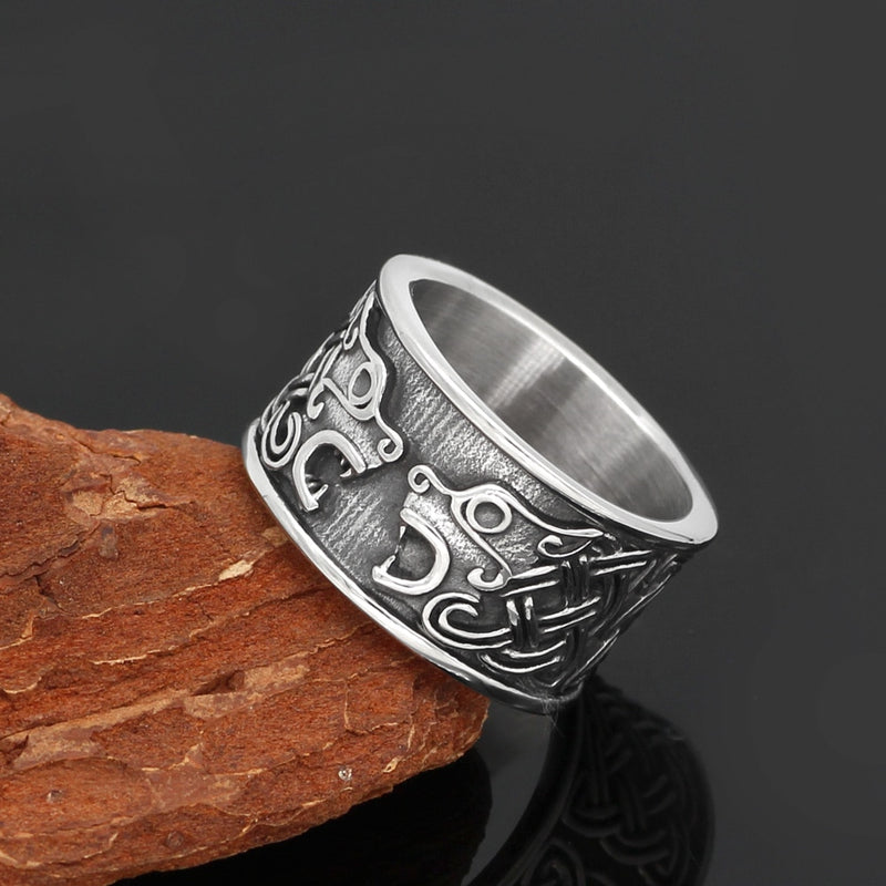 Viking jewelry, Norse Jewelry Viking Bear Ring