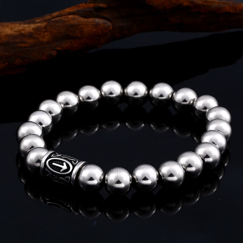 Viking jewelry, Norse Jewelry Norse Rune Beads Bracelet Armring