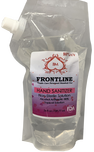 Front Line Hand Sanitizer - 85% v/v/ Unscented 24 oz / 709 ML  Hospital Grade - Black Momma Tea & Cafe