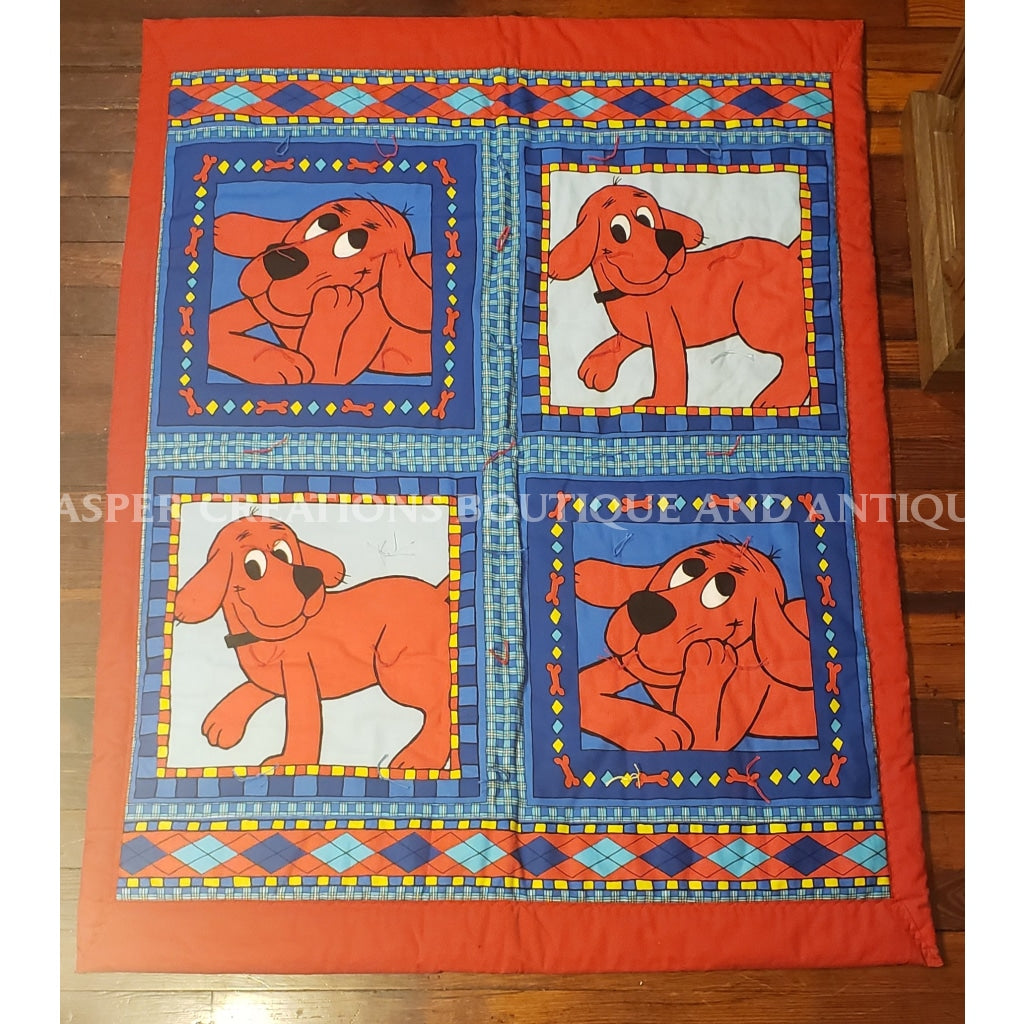 Clifford Handmade Baby Quilt