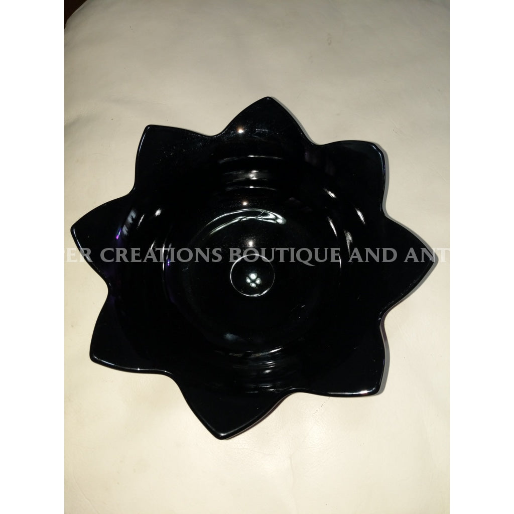 Fenton Ebony Black Bowl