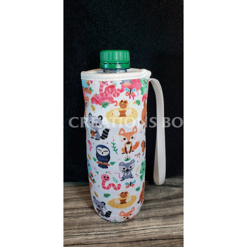 Forest Animals Water Bottle Holder