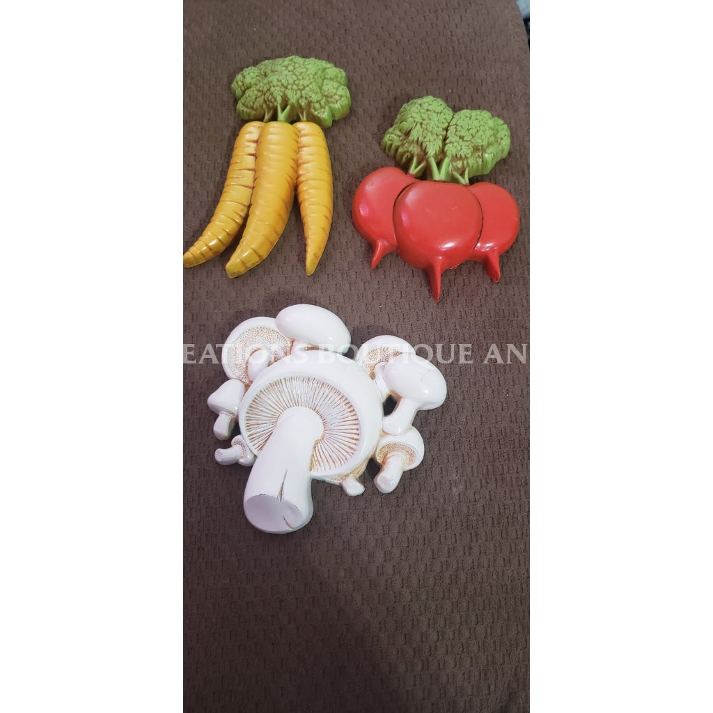 Home Interior Vegetable Wall Hangings