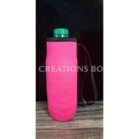 Hot Pink Water Bottle Holder