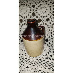 Mineature Stoneware Brown & Tan- Usa