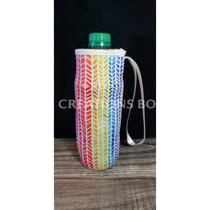 Rainbow Arrows Water Bottle Holder