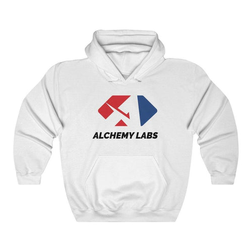 ALCHEMY LABS WHITE HOODIE