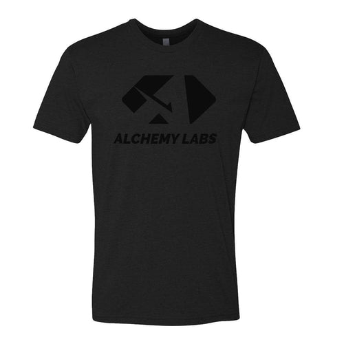ALCHEMY LABS BLACK/BLACK T-SHIRT