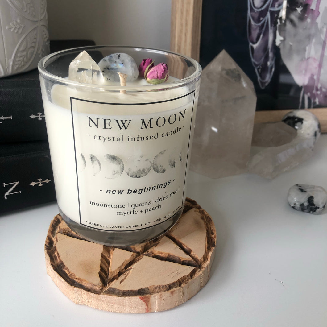 New Moon: New Beginnings.