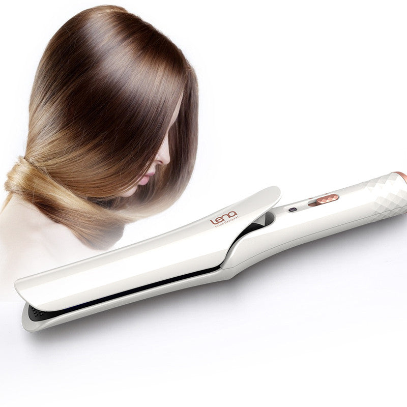 Straightener and Curler Hair Styling Tool Curling Iron Wand Curler Styler EU Plug Flat Iron - getthatglow