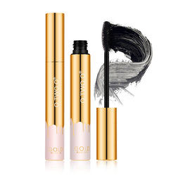 O.TWO.O Mascara Lengthening Black Lash Eyelash Extension Eye Lashes Brush Makeup Long-wearing Gold color Mascara - getthatglow