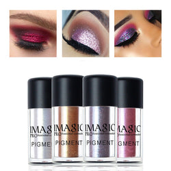 Shimmer Powder Eyeshadow Color Cosmetics Palette Waterproof Pigment Brand Loose Glitter Eye Shadow - getthatglow