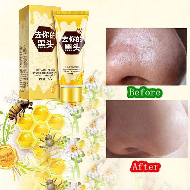Propolis Cleansing Facial Face MaskTear-type Mask Remove Blackhead - getthatglow