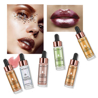 6 Colors Highlighter Make Up Concealer Shimmer Face Glow Liquid Highlighter Cream - getthatglow