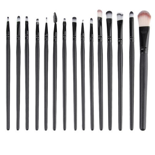 15 pcs/Set professional makeup Cosmetic beauty Kits Eye Shadow Foundation Eyebrow Lip Brush Makeup Brushes Set Tools - getthatglow