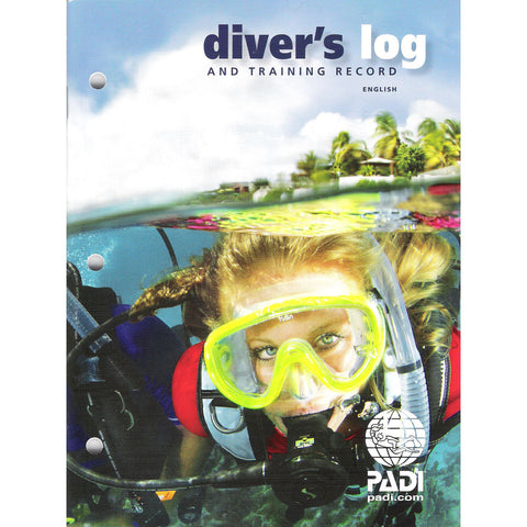 70047 - Logbook - Diver's Log and Training Record, Blue