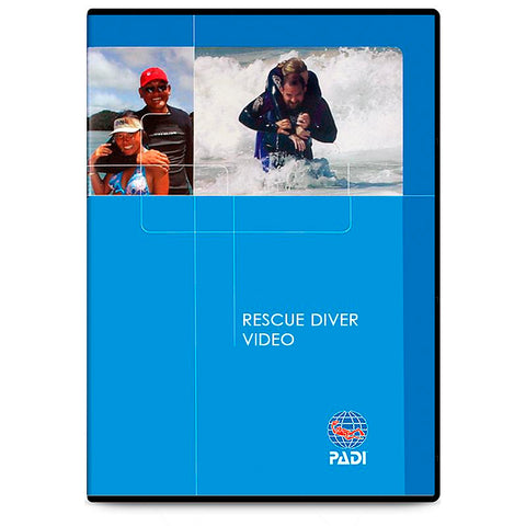 70853 - DVD - Rescue Diver, Diver Edition(English/French/Spanish