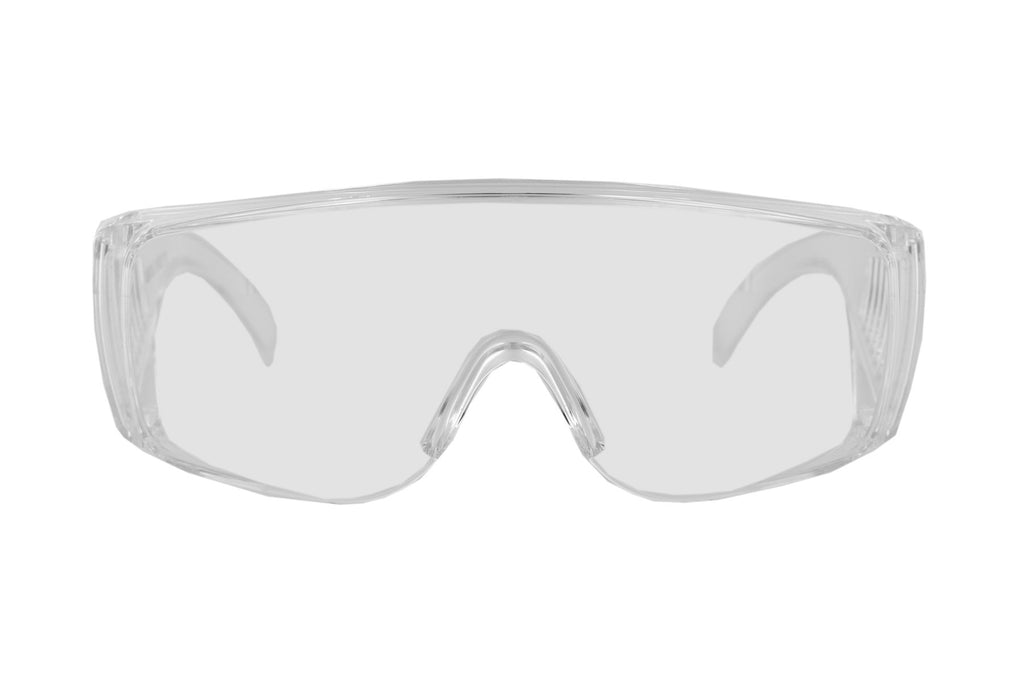 Safety Glasses (Clear) - 2 pairs per pack