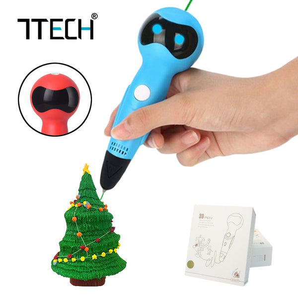 7TECH 3D Pen with PCL 1.75mm Filament Kids Gift