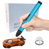 7TECH Original 3D Pen with 1.75mm ABS/PLA Plastic Filament
