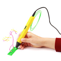 7TECH 3D Pen with OLED Screen 1.75mm PLA Filament