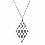 Diamond Lattice Necklace