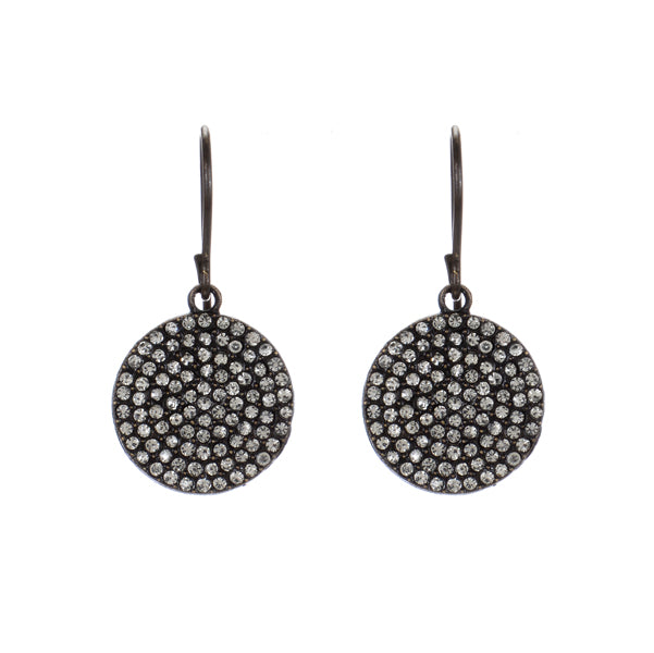 3043 small dound disc earrings