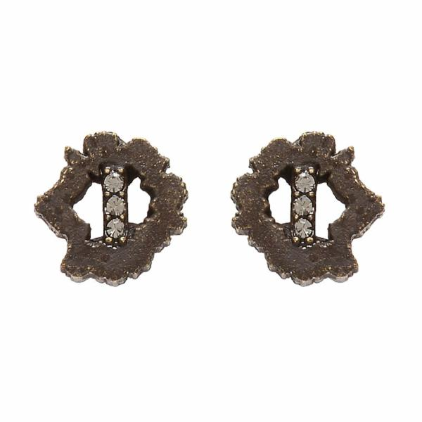 stud earrings, handcrafted