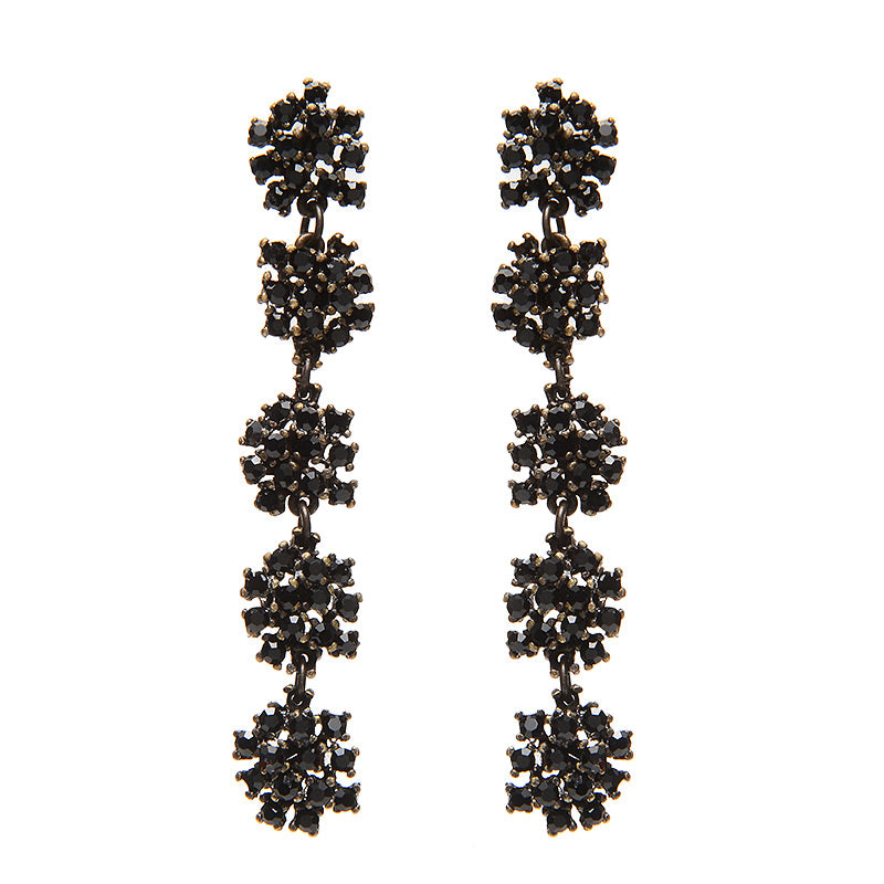 3147 five drop earrings