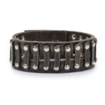 5048 studded brass railroad bracelet