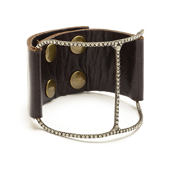 5172 barely there bracelet, vintage brown w black diamond