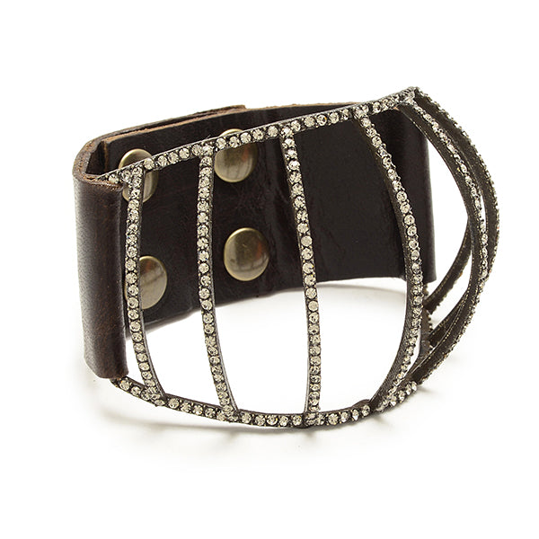 5178 vintage brown w black diamond