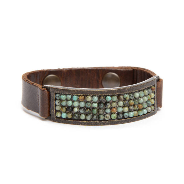 ID Leather Bracelet