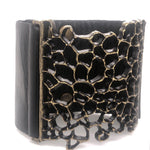 5265 honeycomb bracelet, black