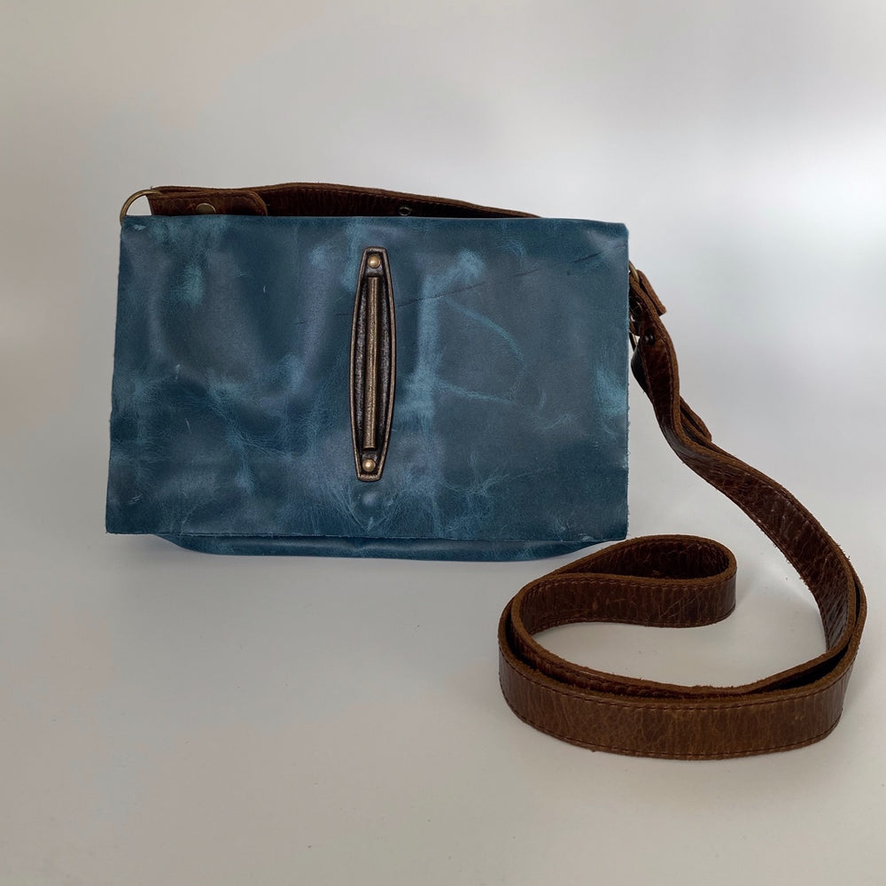 leather bag, handmade