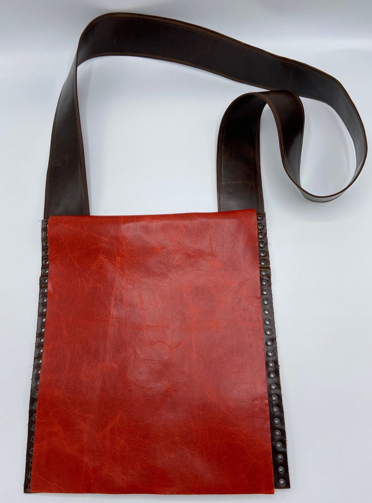 leather bag, handcrafted