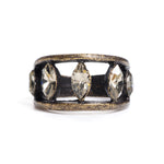 Navette Crystal Ring